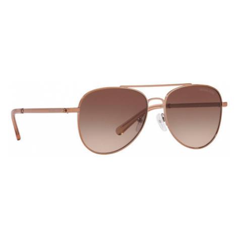 Michael Kors Okulary przeciwsłoneczne San Diego 0MK1045 121313 Brązowy