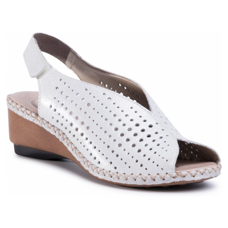 Sandały RIEKER - 66196-80 Weiss