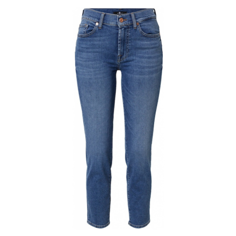 7 for all mankind Jeansy 'ROXANNE ANKLE REASON' niebieski denim
