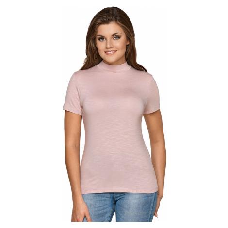 Różowe damskie bluzki