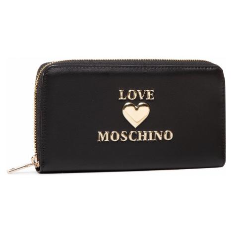 Duży Portfel Damski LOVE MOSCHINO - JC5606PP0BLE0000 Nero