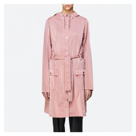 Płaszcz damski Rains Curve Jacket 1206 BLUSH