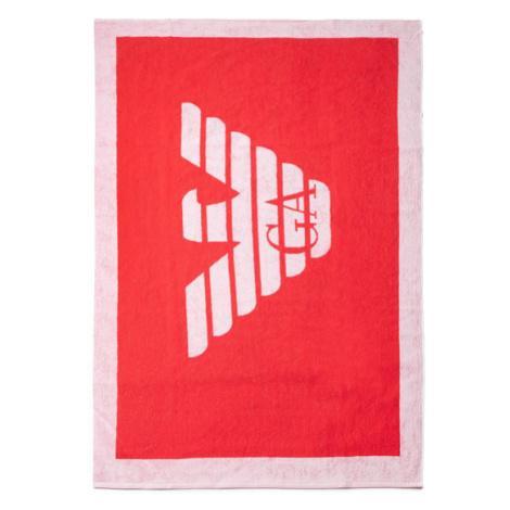 Emporio Armani Ręcznik 211772 0P445 00175 Czerwony
