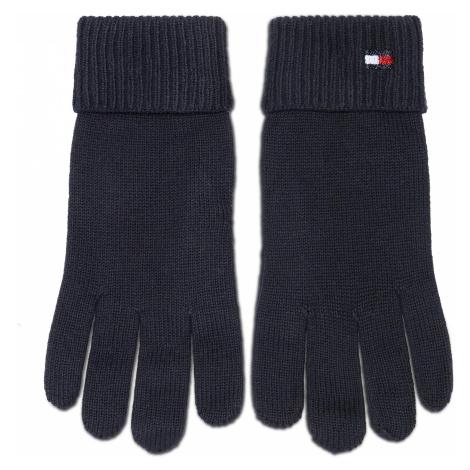 Rękawiczki Damskie TOMMY HILFIGER - Essential Knit Gloves AW0AW09027 CJM