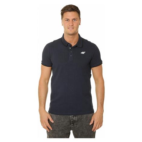 koszulka 4F H4L19-TSM024 Polo - 30S/Dark Blue