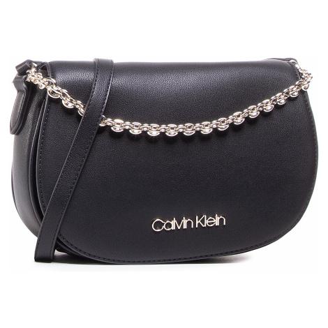 Torebka CALVIN KLEIN - Saddle Bag W/Chain K60K607430 Black 0GW