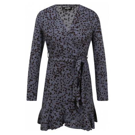 Missguided (Petite) Sukienka gołąbkowo niebieski / czarny
