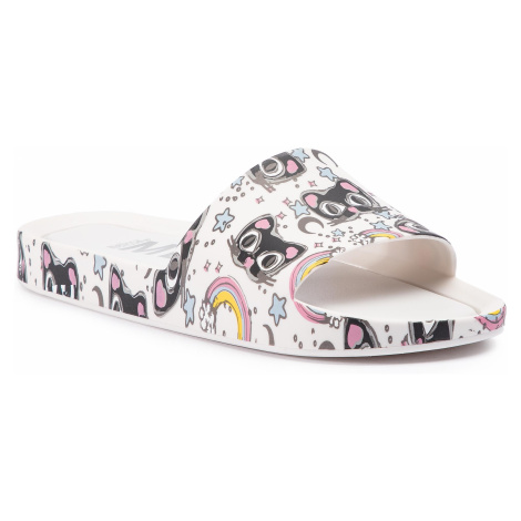 Klapki MELISSA - Beach Slide 3Db IV Ad 32540 White/Black 50735