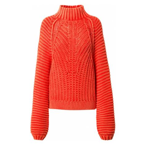 Free People Sweter 'SWEETHEART' pomarańczowo-czerwony