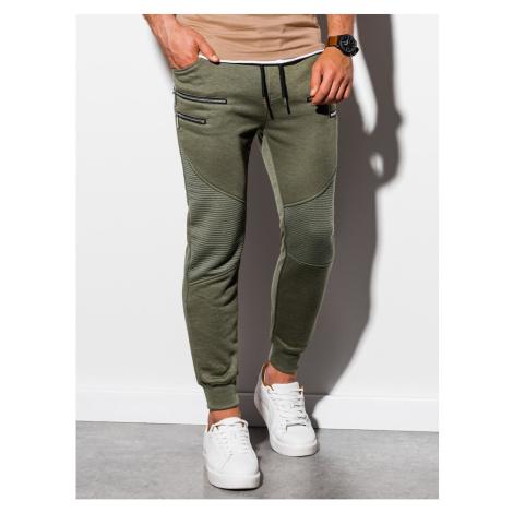 Spodnie dresowe męskie Ombre P900