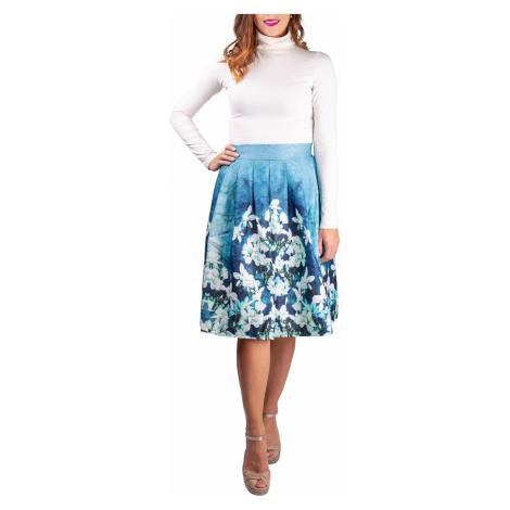 Simpo spódnica damska Blue Flowers /L