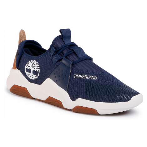 Sneakersy TIMBERLAND - Earth Rally Flexiknit Ox TB0A2D5M0191 Navy Knit