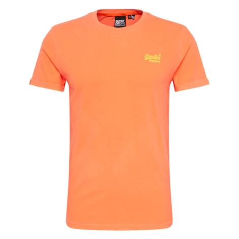 Superdry Koszulka 'Ol Neon' pomarańczowy
