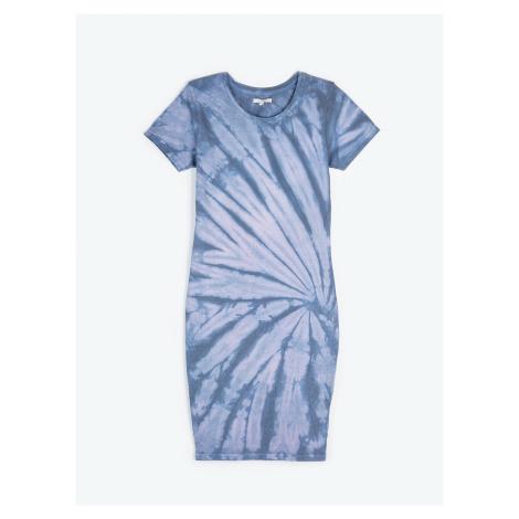 GATE Koszulowa sukienka z nadrukiem tie-dye