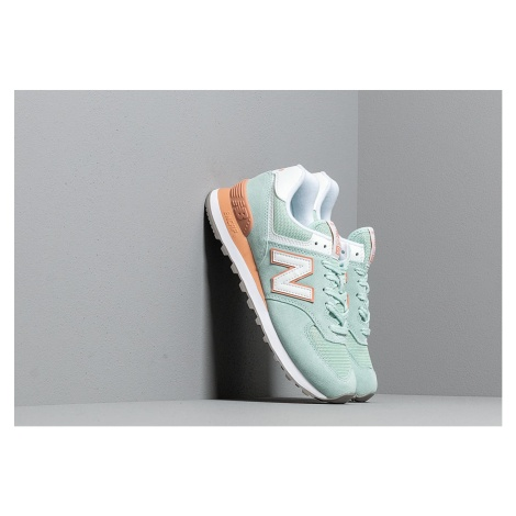 New Balance 574 White Agave/ Faded Copper