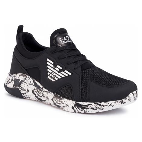 Sneakersy EA7 EMPORIO ARMANI - X8X058 XK138 A120 Black/White