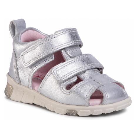 Sandały ECCO - Mini Stride Sandal 76113101097 Silver Metallic