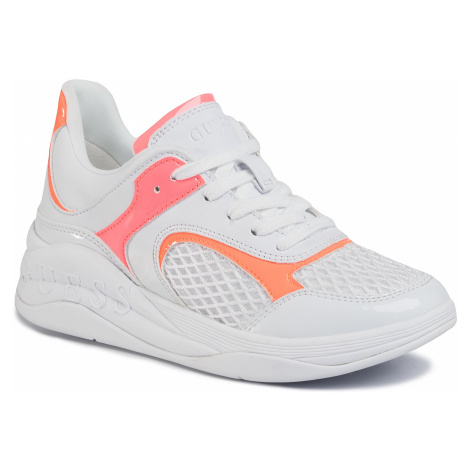 Sneakersy GUESS - Saucey FL6SAY ELE12 WHITE