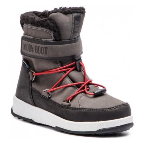Moon Boot Śniegowce Jr Boy Boot Wp 34051600002 Szary