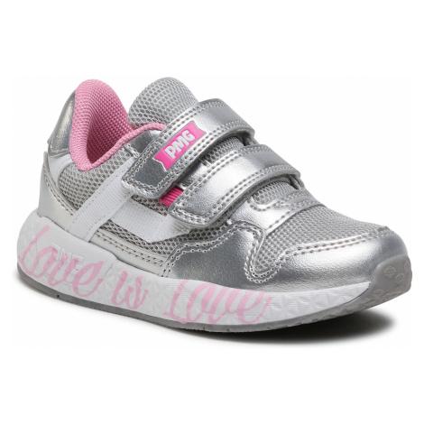 Sneakersy PRIMIGI - 7453700 Argent
