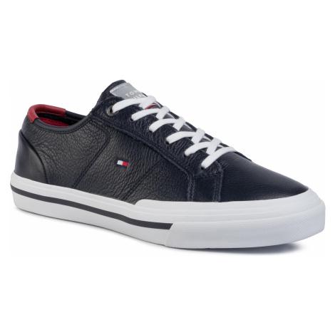 Tenisówki TOMMY HILFIGER - Core Corporate Flag Sneaker FM0FM02593 Desert Sky DW5