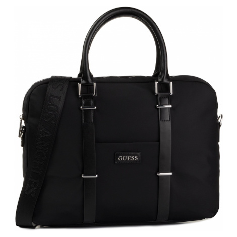 Torba na laptopa GUESS - New Milano HM6901 PL201 BLA