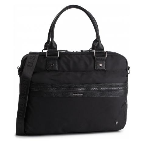 Torba na laptopa U.S. POLO ASSN. - Detroit Business Bag BEUDT0528MIP000 Black