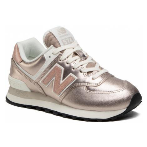 New Balance Sneakersy WL574PM2 Złoty