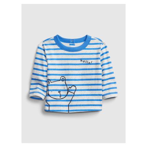 GAP niebieski dziecięca koszulka