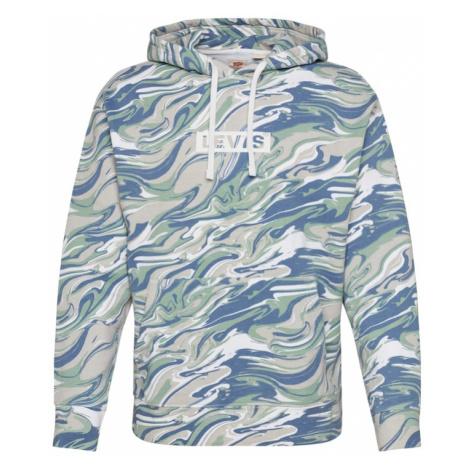 LEVI'S Bluzka sportowa offwhite / niebieski / zielony / beżowy Levi´s
