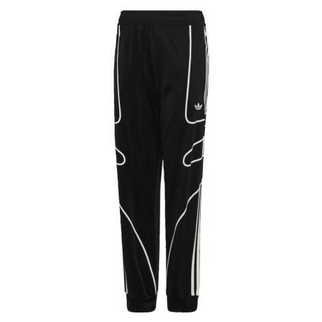 ADIDAS ORIGINALS Spodnie czarny / biały
