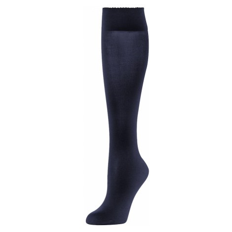 Wolford Skarpety 'Velvet de Luxe 50' ciemny niebieski