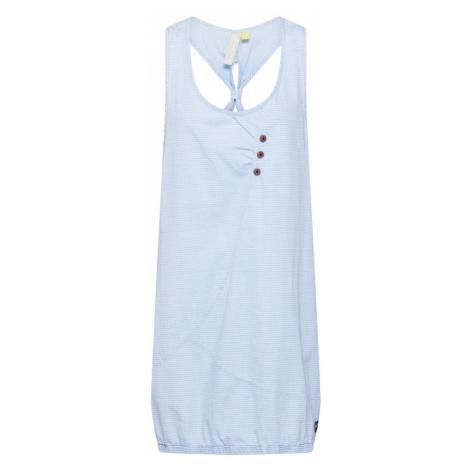 Alife and Kickin Letnia sukienka 'Cameron' jasnoniebieski / biały