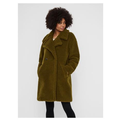 Zielony płaszcz VERO MODA Lynne