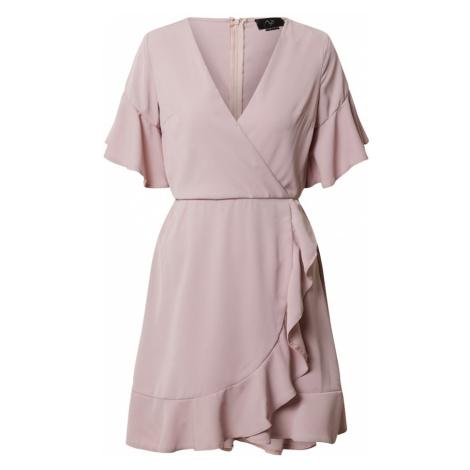 AX Paris Sukienka cielisty / różowy pudrowy