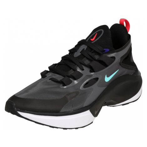 Nike Sportswear Trampki niskie 'NIKE SIGNAL D/MS/X' czarny / ciemnoszary