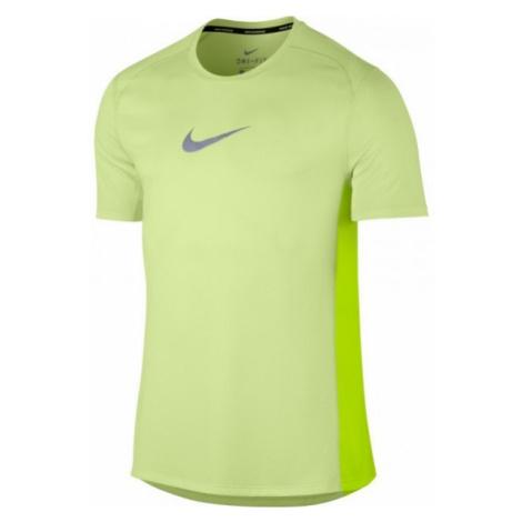 Nike M NK BRTHE MILER TOP SS COOL żółty XXL - Koszulka męska