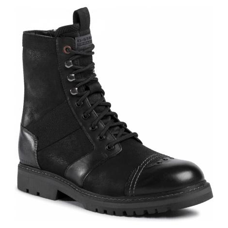 Kozaki G-STAR RAW - Trens Boot D17989-A602-990 Black