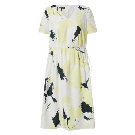 APART Letnia sukienka biały / żółty / czarny