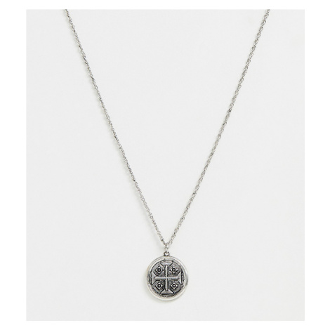 Reclaimed Vintage inspired necklace with round coin style pendant exclusive to ASOS