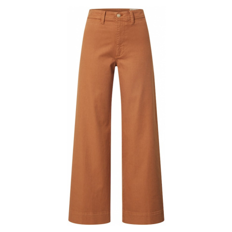 GAP Spodnie brązowy