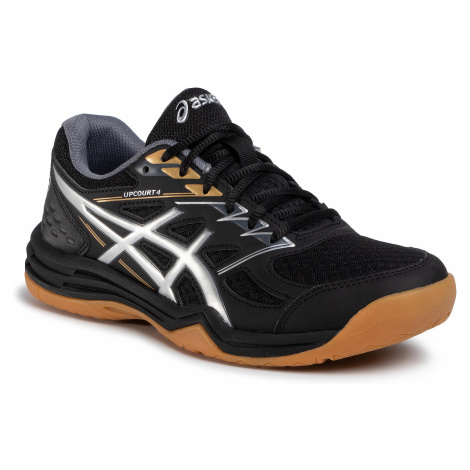Buty ASICS - Upcourt 4 1071A053 Black/Pure Silver 001