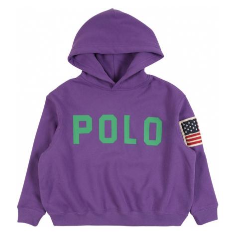 POLO RALPH LAUREN Bluzka sportowa fioletowy / zielony