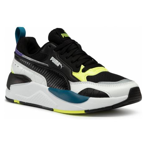 Sneakersy PUMA - X-Ray 2 Square Jr 374190 01 Black/Black/Whi/Yellow/Blue