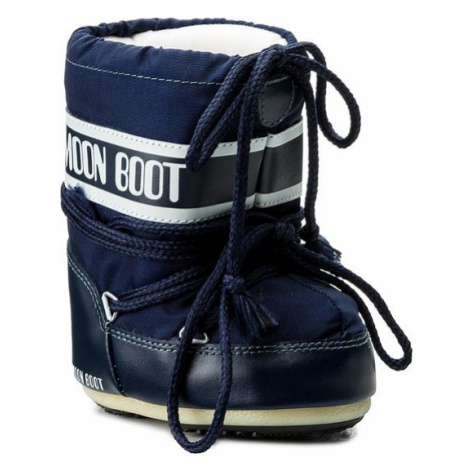 Moon Boot Śniegowce Mini Nylon 14004300002 Granatowy