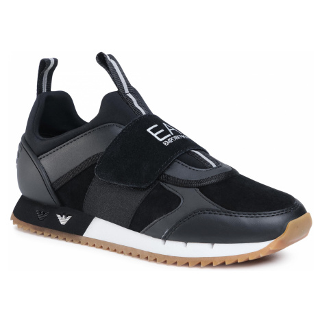 Sneakersy EA7 EMPORIO ARMANI - X8X066 XK173 N144 Black/White/Honey