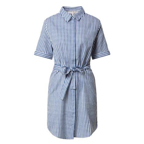 PIECES Sukienka koszulowa biały / jasnoniebieski