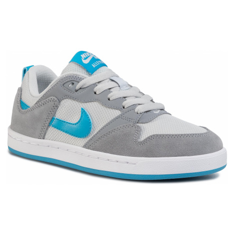 Buty NIKE - Sb Alleyoop (GS) CJ0883 002 Particle Grey/Laser Blue