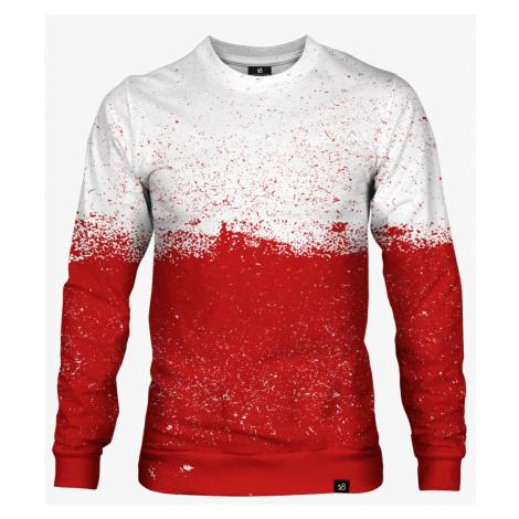Niepodległa Polska biało czerwoni, bluza bez kaptura, 100% bawełna