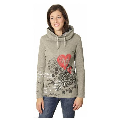 sweter Desigual 67S25B7/Roxana - 2009/Gris Vigore